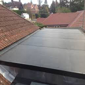 EPDM rubber roofing at Nelson Roofing