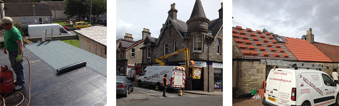 Local roofers in Dunfermline